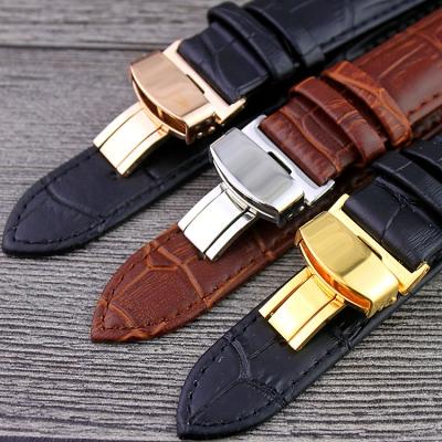 Bracelet de montre en cuir PU de 12 mm de largeur bracelet en cuDA