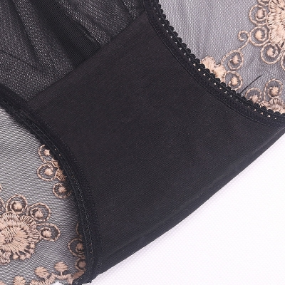 Tidsmæssigt Sexede Underbukser til Kvinder, Blonder design og Gennemsigtigt DR-32