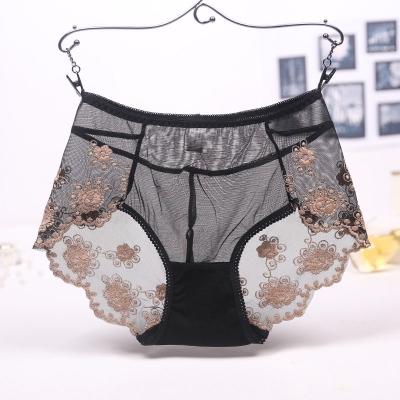 Splinternye Sexede Underbukser til Kvinder, Blonder design og Gennemsigtigt QN-88